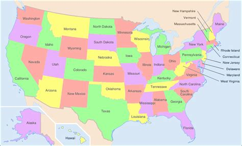 usa map image file map of usa showing state names png wikimedia commons