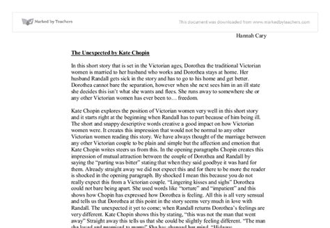 Kate Chopin The Story Of An Hour Essay by Essay On The Kate Chopin Collegeconsultants X Fc2