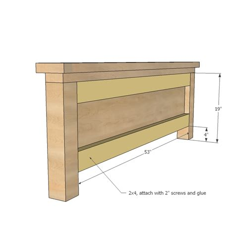 Headboard With Storage Plans by Storage Bed Woodworking Plans Woodshop Plans