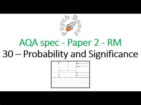 probability research paper 7 30 probability and significance research methods for