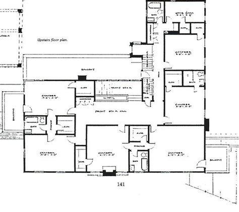 rieber terrace floor plan the george white gunn marston house san diego