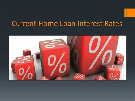 ppt current home loan interest rates powerpoint