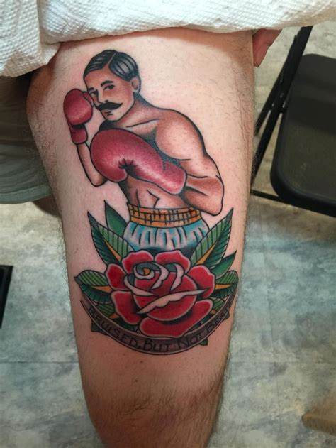 traditional boxer tattoo 17 best images about fighter tko tattoos on