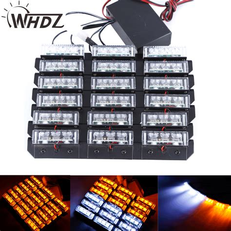 led emergency vehicle lights 54 led emergency vehicle strobe lights bars warning deck