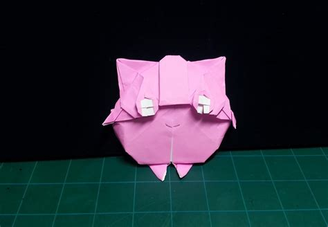 Origami Jigglypuff - 30 absol utely astonishing origami because you