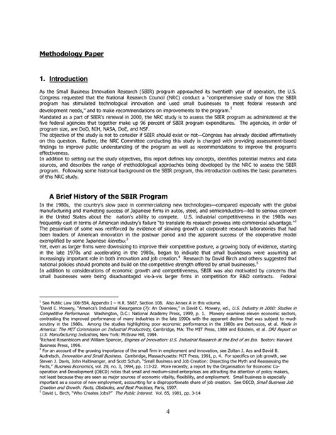introduction sle of a research paper 1 introduction an assessment of the small business