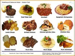 western food menu related keywords amp suggestions western