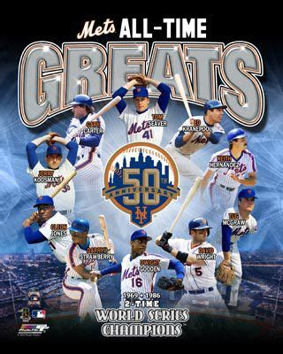 a for all time news new york mets all time greats 10 legends premium poster