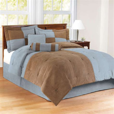 mainstays comforter set collection colorblock walmart com