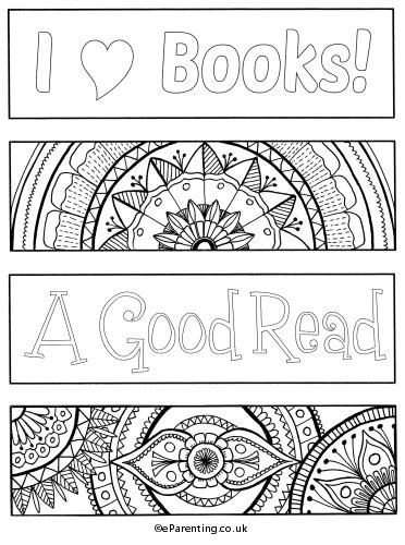 pictures to color free printable bookmarks to colour