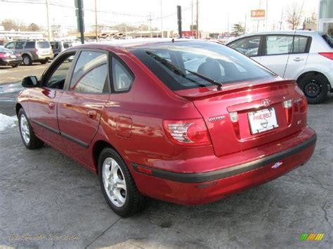 2004 Hyundai Elantra Gt by 2004 Hyundai Elantra Gt Hatchback In Crimson