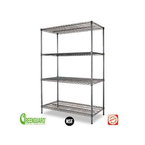 wire shelving costco costco alera wire shelving 48x24x72 169 99 office
