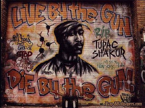 graffiti walls tupac shakur rip graffiti mural wallpapers