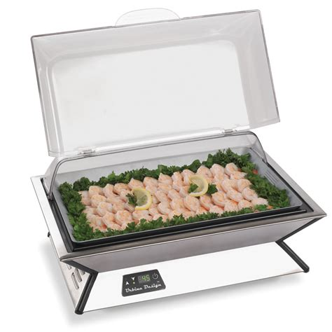 the ice free buffet cooler hammacher schlemmer