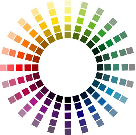 munsell color wheel how to choose the right color palette in web design