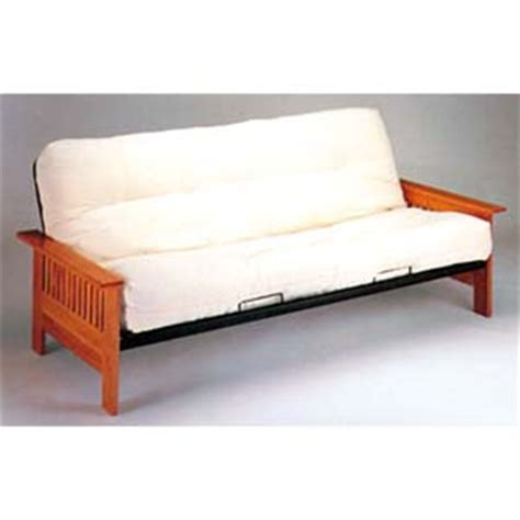 Futon Style Bed Mission Style Wood And Metal Futon Sofa Bed 2511 Iem