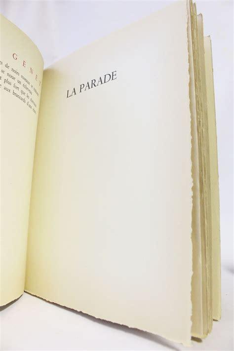 jean genet poesie genet po 232 mes edition originale edition originale