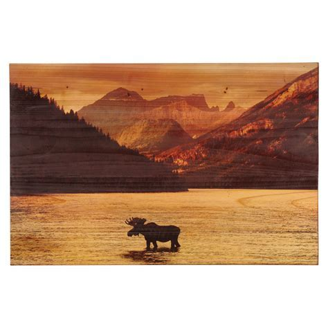 Moose Mountain Wood Panel