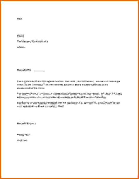 application letter sles for studentsreference letters