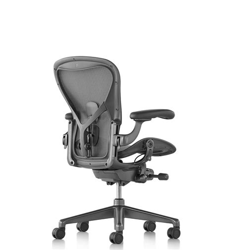 herman miller aeron posturefit desk chair aeron office chair by don chatwick for herman miller