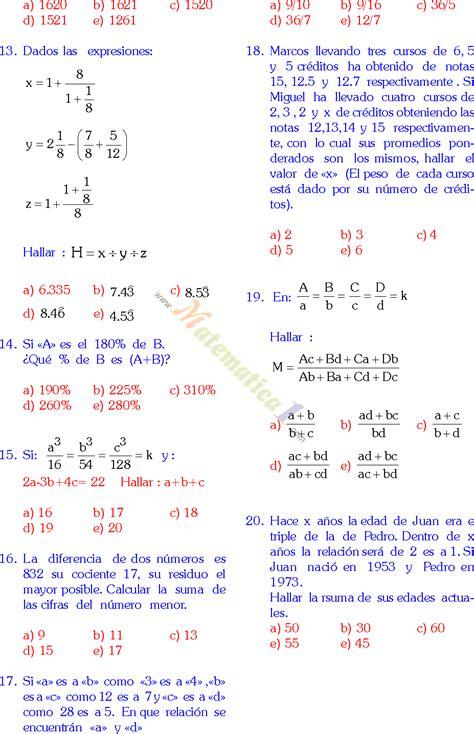 preguntas de historia para quinto de secundaria 20 preguntas solucionadas de matematicas de quinto grado