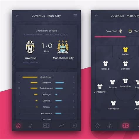 football application mobile 16 best sports a pp images on app design