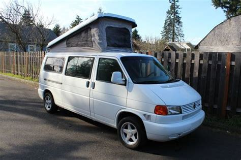 how things work cars 1997 volkswagen eurovan on board diagnostic system purchase used 1997 vw eurovan cer westfalia no reserve in portland oregon united states