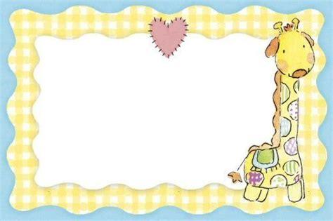 imagenes de jirafas para baby shower invitaciones de baby shower para imprimir fiesta101