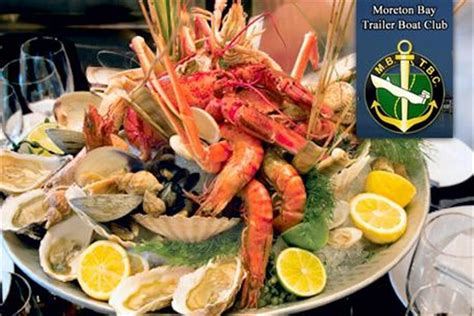 manly trailer boat club menu seafood platter for two in manly inc bottle of wine and