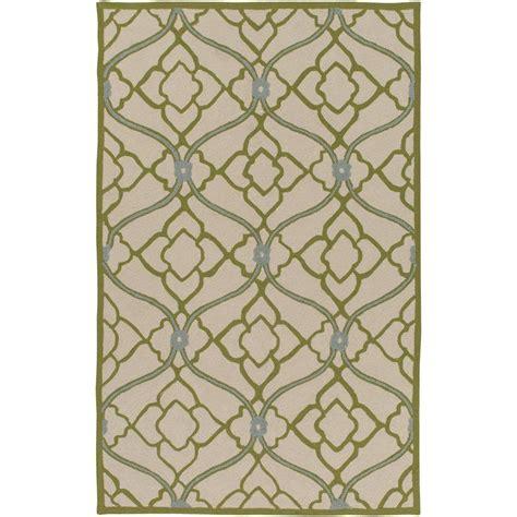 8 x 10 indoor outdoor rug hton bay tropical blossom green 8 ft x 10 ft indoor outdoor area rug 312294552403051 the