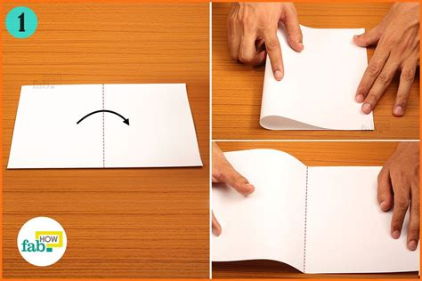 Folding Paper In Half - how to make a paper airplane that flies far page 4 of 4