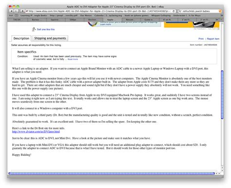 ebay description template creating a ebay ad