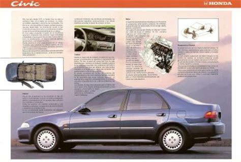where to buy car manuals 1992 honda civic interior lighting 1992 1993 honda civic brochure