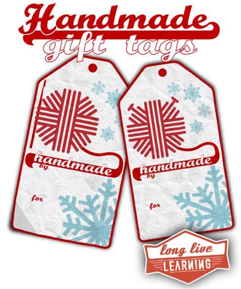 printable tags for homemade gifts printable gift tags for handmade crochet knit gifts
