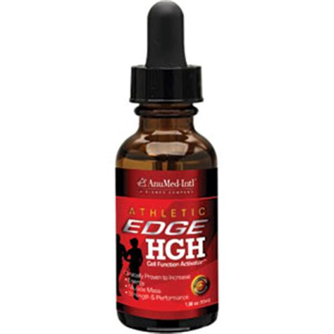 Physiological Intl anumed intl hgh athletic edge 1 oz liquid drops