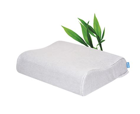 Ergonomic Pillow For Side Sleepers by Side Sleeper Gel Memory Foam Ergonomic Pillow Somnia 04