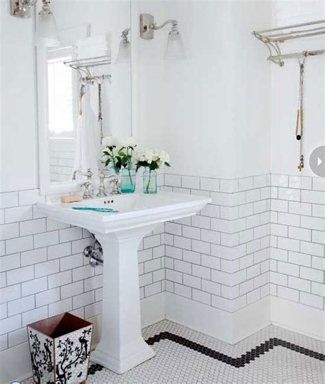Black White Bathroom Tiles Ideas by 35 Vintage Black And White Bathroom Tile Ideas And Pictures
