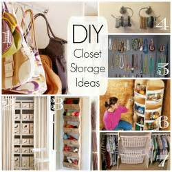 Cathey with an E: Saturday's Seven   DIY Closet Organization and Storage