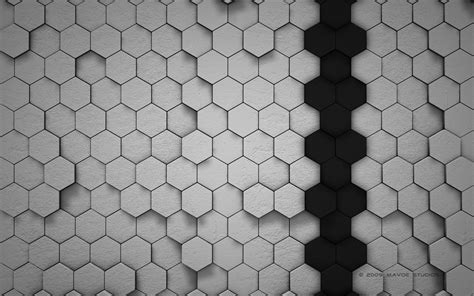 wallpapers 3d honeycomb wallpapers honeycombs gray background wallpapers and images