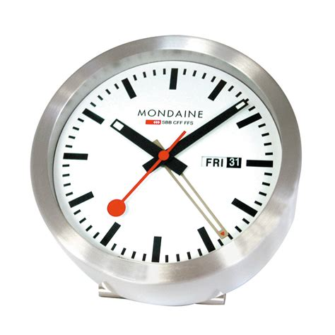 mondaine wall clock mondaine clocks crown jewellery