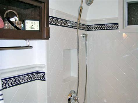 blue border tiles for bathrooms tiles for bathroom choose carefully systemkcal com