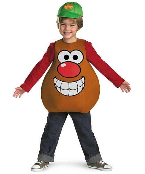 mr potato boys costume