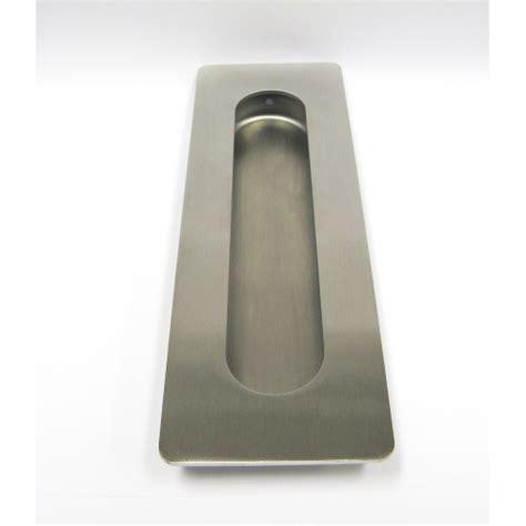 Sliding Door Flush Pull Stainless Steel   32FP32B   Lock
