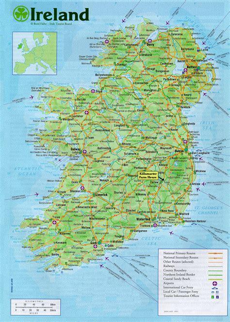 map ireland killamaster house ireland map