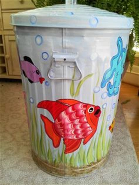1000 images about trash cans on pinterest 1000 images about ideas for trash barrel paint in on