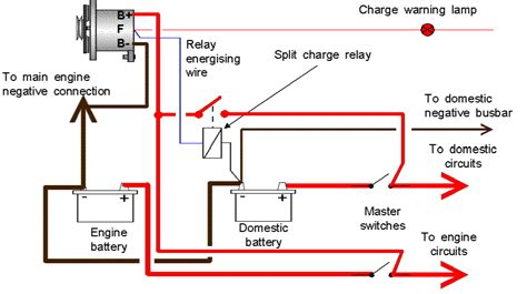 12v split charge relay wiring diagram fog light relay