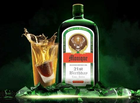 personalized jagermeister labels personalized liquor