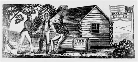 Log Cabin And Cider Caign by Mstartzman Log Cabin Cider Caign Of 1840 Fourth