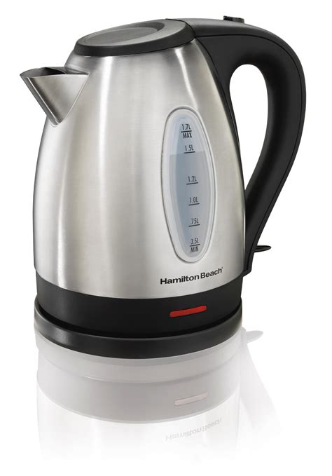 hamilton 40882e stainless steel 7 2 cup kettle electric kettles kitchen dining