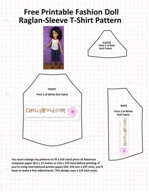 pattern for ken clothes 143 best free printable patterns for barbie dolls images